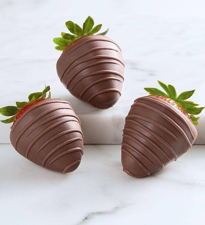 Decadent Milk Chocolate Strawberries