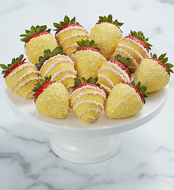 Pink Lemonade Dipped Strawberries™