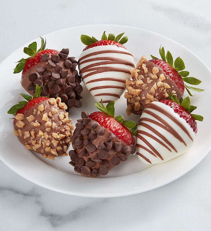 Gourmet Deluxe Dipped Strawberries™