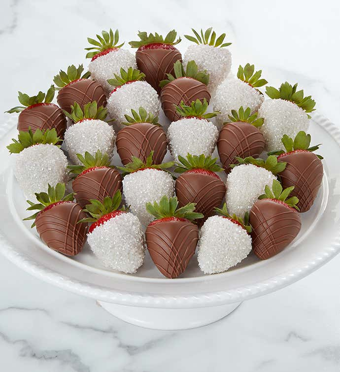 Wedding Day Dipped Strawberries