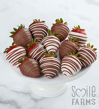 Gourmet Drizzled Strawberries™