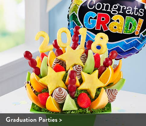 Graduation Fruit Bouquets