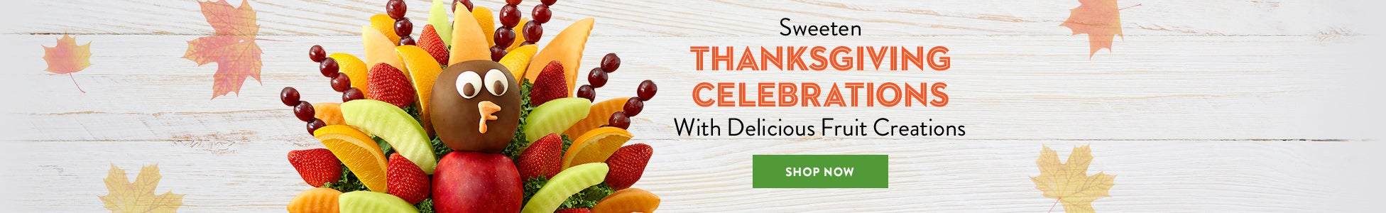 Sweeten Thanksgiving Celebrations With Delicious Fruit Creations